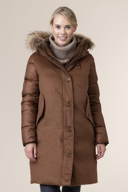 Płaszcz Blauer BLDK03044_351 brązowy
