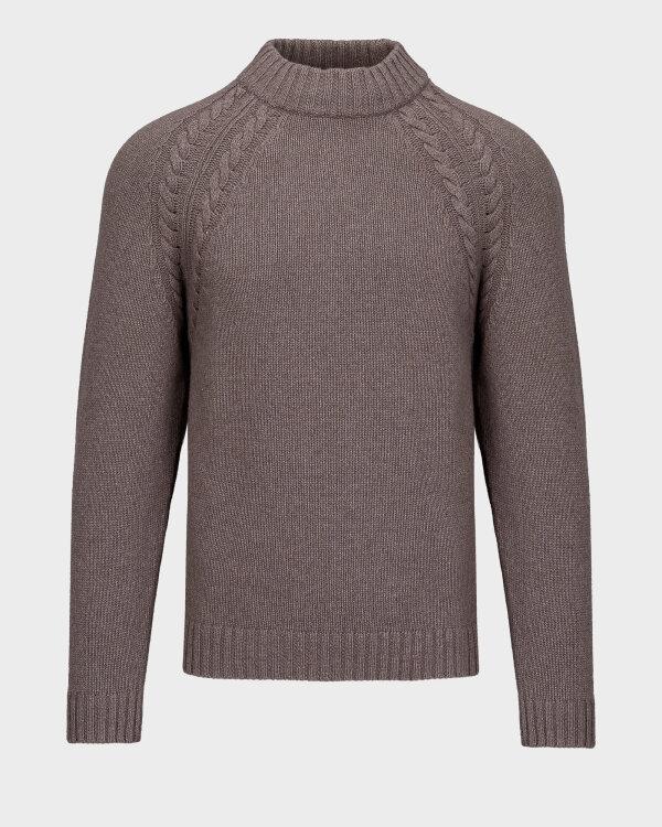 Sweter Oscar Jacobson WALKELEY 6945_5539_406 brązowy