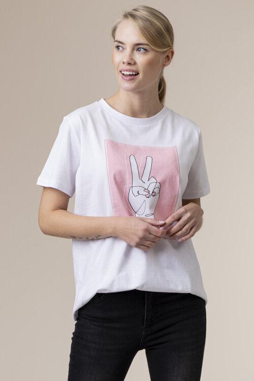 T-Shirt One More Story 101531_3000 biały