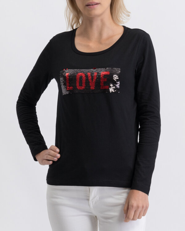 T-Shirt Gas 98279_TESSI RS LOVE_0200 czarny