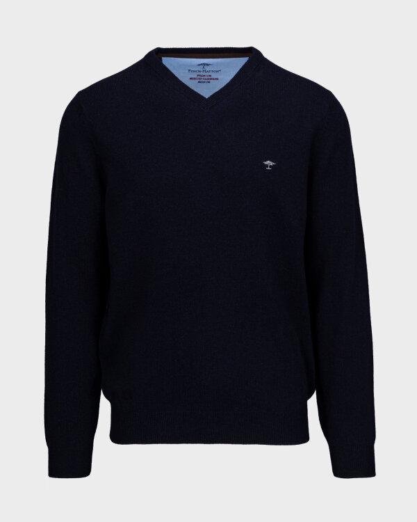 Sweter Fynch-Hatton 1220801_694 granatowy