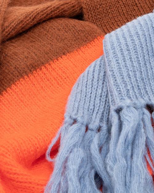 Szalik Beatrice B 20FA9334IRIS_450 pomarańczowy