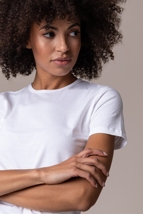 T-Shirt Fraternity NOS_W-TSH-0065 NOS_WHITE/B biały