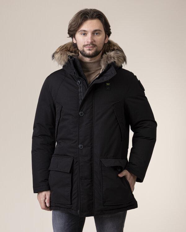 Płaszcz Blauer Bluk03378_999 Czarny Blauer BLUK03378_999 czarny