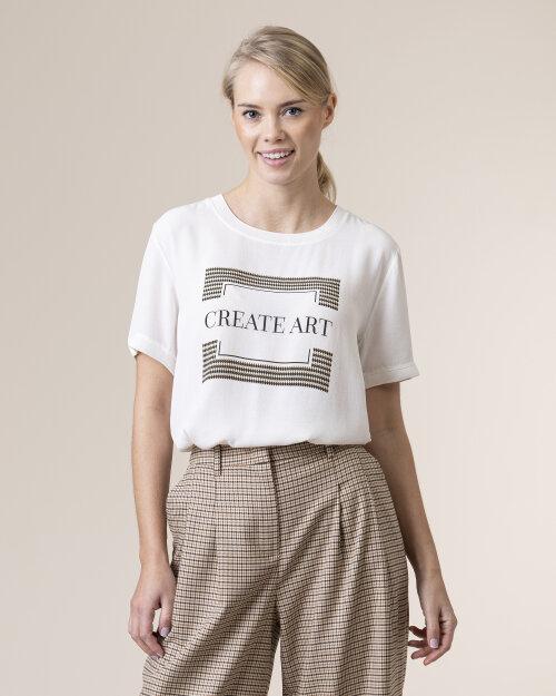 T-Shirt One More Story 101482_3001 biały