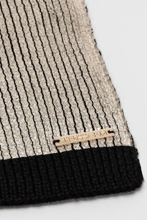 Szalik Trussardi Jeans 59Z00239_9Y099999_K299 czarny