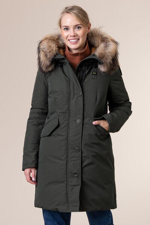 Płaszcz Blauer BLDK03374_678 zielony