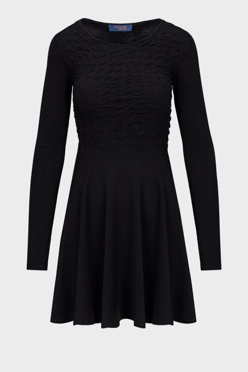 Sukienka Trussardi Jeans 56D00467_1T004810_K299 czarny