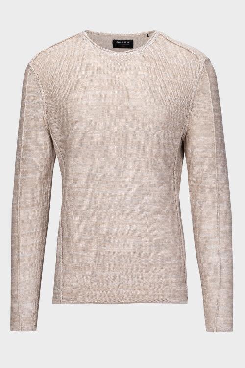 Sweter Gabba LIAM LINEN_159 LT.SAND beżowy