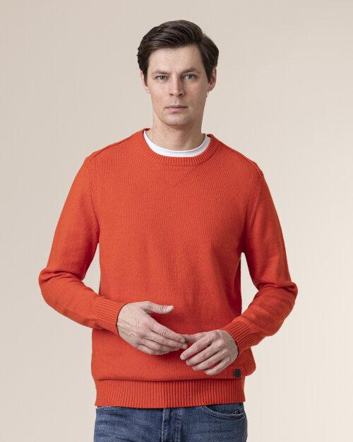 Sweter Camel Active 4K06409506_54 pomarańczowy