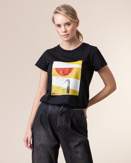 T-Shirt Beatrice B 20FA8018BARBY_99 czarny