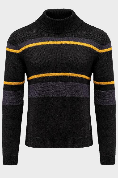 Sweter Trussardi Jeans 52M00391_0F000552_K299 czarny