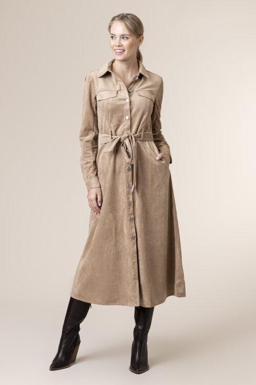 Sukienka Na-Kd 1018-004590_BEIGE beżowy