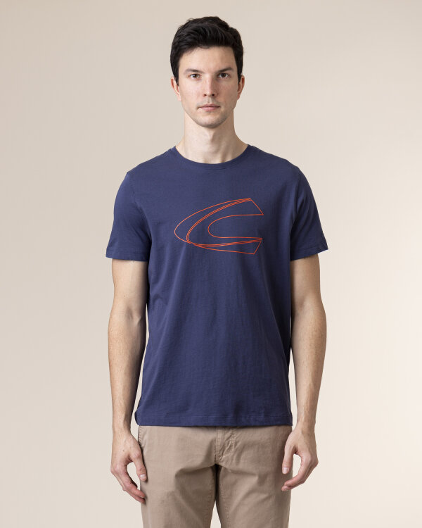T-Shirt Camel Active 4T03409603_43 niebieski