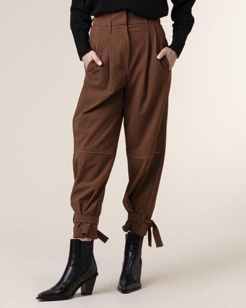 Spodnie Beatrice B 20FA1360ARTE28_600 brązowy