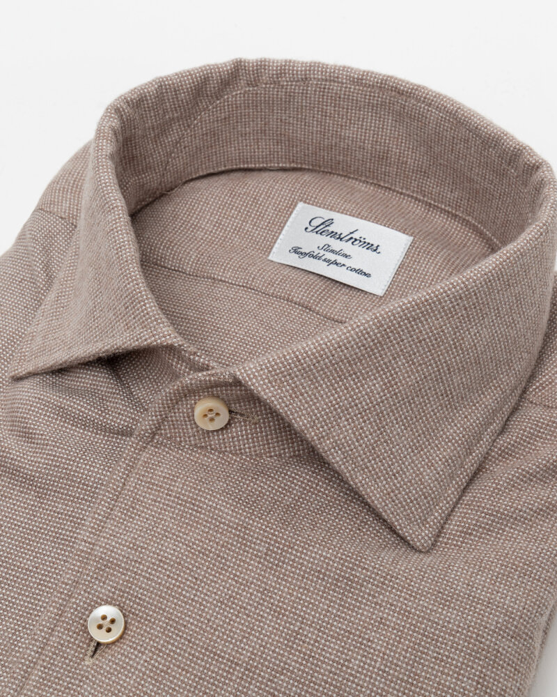 Koszula Stenstroms 702501_8026_250 beżowy - fot:2