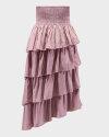Spódnica Na-Kd 1014-000971_PINK różowy