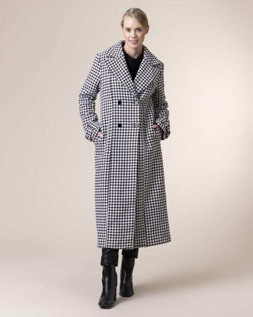 Płaszcz Na-Kd 1018-004585_BLACK/WHITE czarny