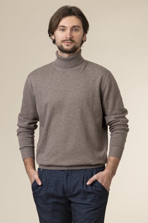 Sweter Redmond 501_37 brązowy