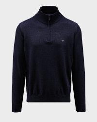 Sweter Fynch-Hatton 1220216_690 granatowy- fot-0