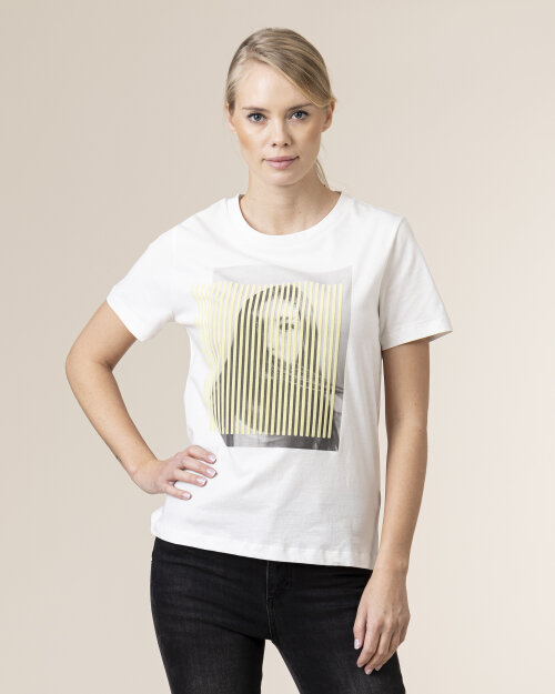 T-Shirt One More Story 101513_3001 biały