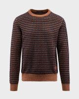 Sweter Trussardi Jeans 52M00372_0F000585_B217 brązowy