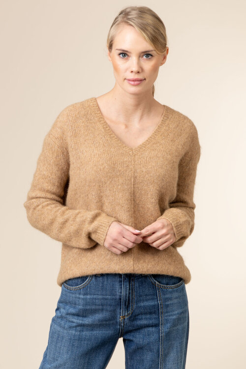 Sweter Camel Active 4K61309507_03 brązowy
