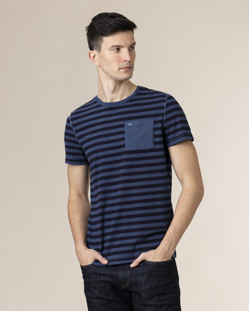 T-Shirt Camel Active 4T11409611_43 niebieski