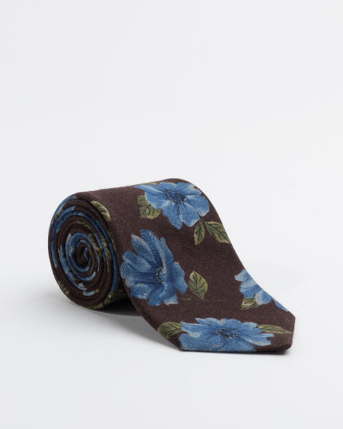 Krawat Stenstroms 913131_002 zielony