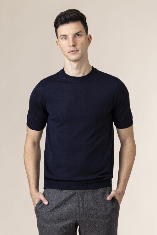 T-Shirt Stenstroms 420078_1350_190 granatowy