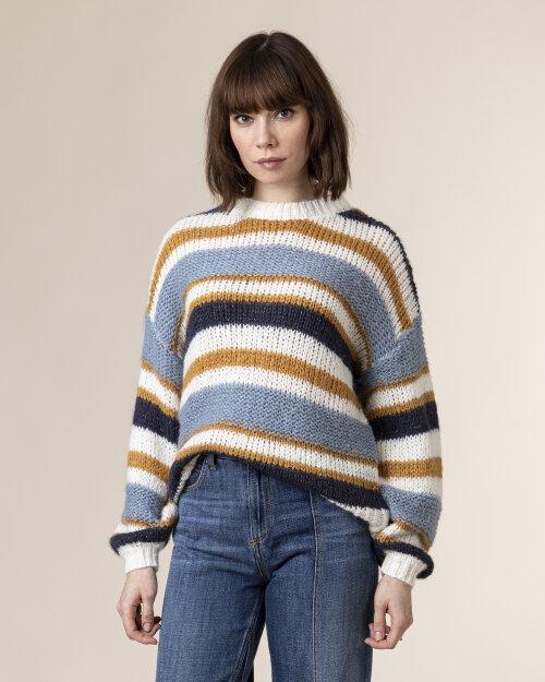 Sweter Lollys Laundry 20322_7009_STRIPE wielobarwny
