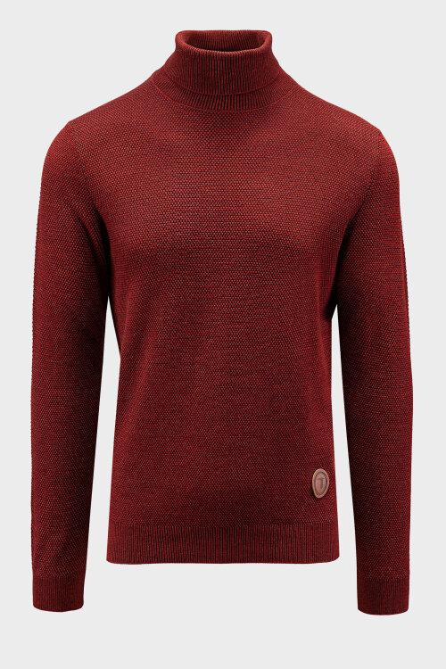 Sweter Trussardi Jeans 52M00393_0F000553_R010 czerwony