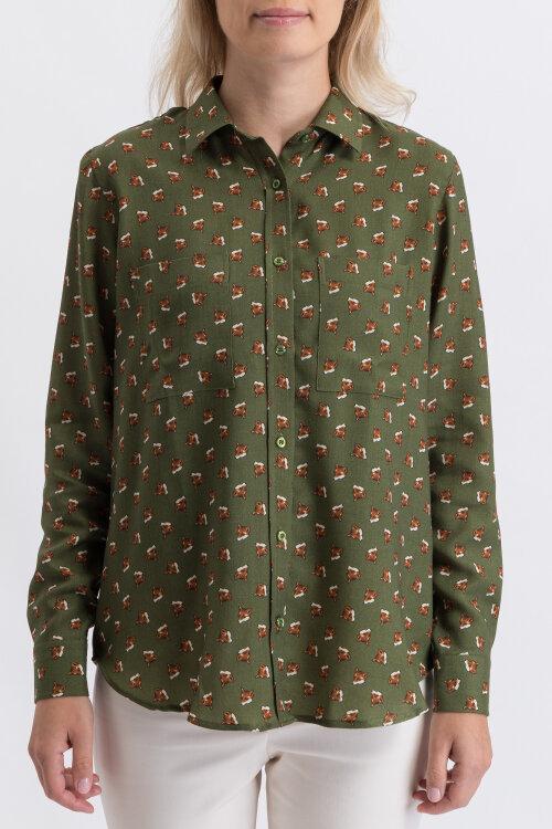 Koszula Cavaliere 60HV19131_Sierra_80 zielony
