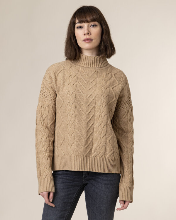 Sweter Camel Active 4K76309520_20 brązowy