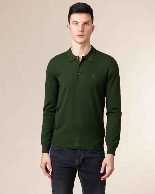 Sweter Trussardi  52M00342_0F000542_G701 zielony