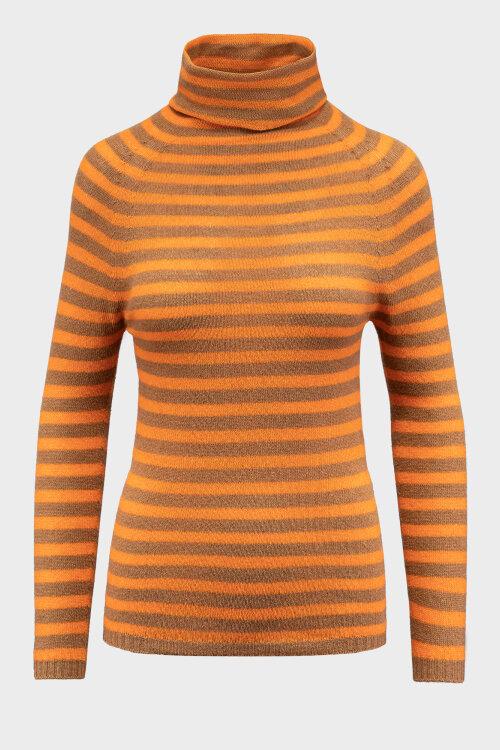 Sweter Iblues 73661707_CALCUT_015 pomarańczowy