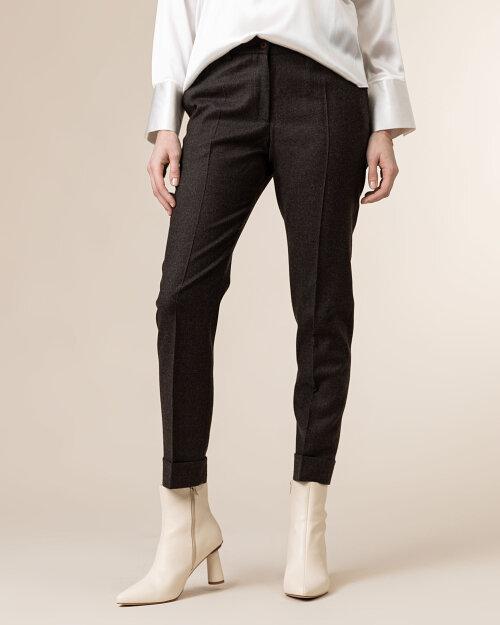 Spodnie Cavaliere 20HV20122_ABBET FLANELL_50 brązowy