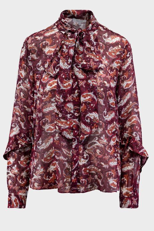 Bluzka Patrizia Aryton 05748-60_00 bordowy