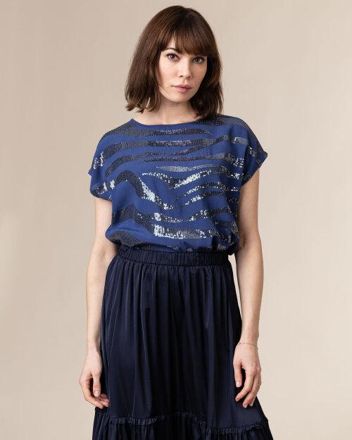 Bluzka Lollys Laundry 21152_1023_DUSTY BLUE niebieski
