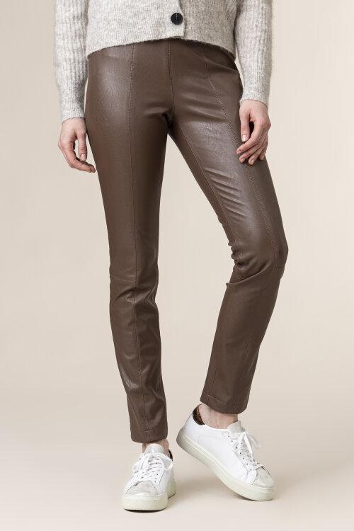 Spodnie Atelier Gardeur ZOE 601381_20 brązowy