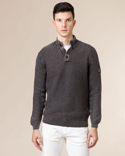 Sweter Pioneer Authentic Jeans 07072_04813_191 ciemnoszary