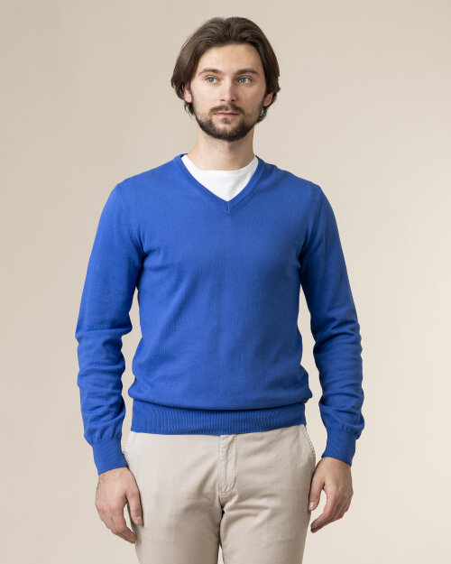Sweter Baldessarini 5022_40004_6213 niebieski