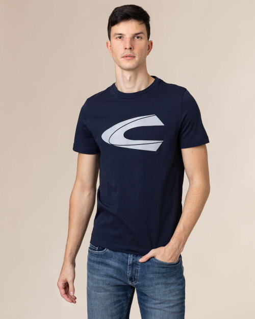 T-Shirt Camel Active 4T03409603_44 granatowy