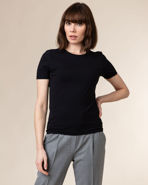 T-Shirt Stenstroms 442140_6108_600 czarny