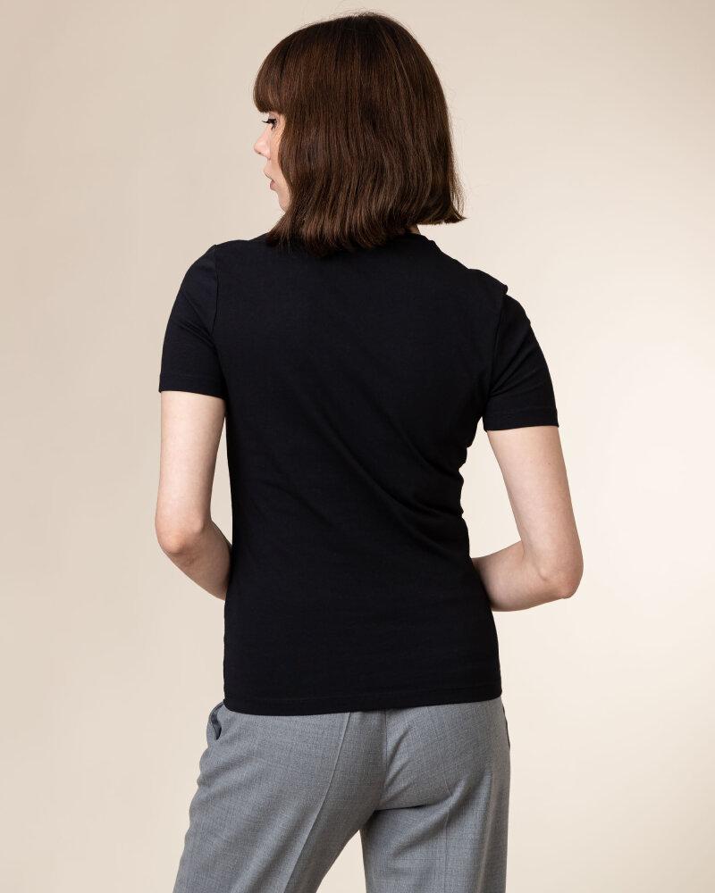 T-Shirt Stenstroms 442140_6108_600 czarny - fot:4