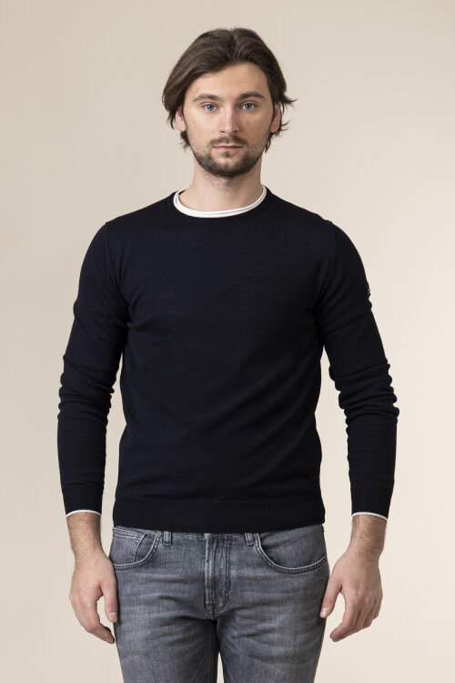 Sweter Navigare NV1030030_001 granatowy