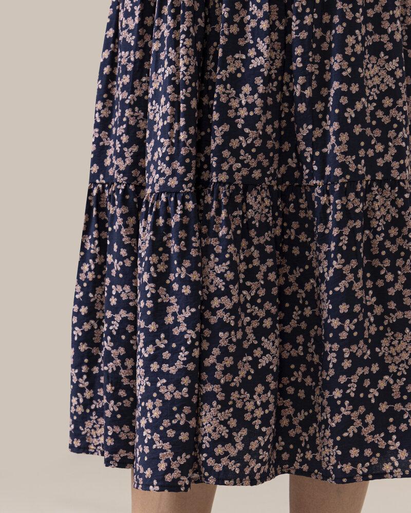 Spódnica Lollys Laundry 21109_4017_FLOWER PRINT granatowy - fot:3