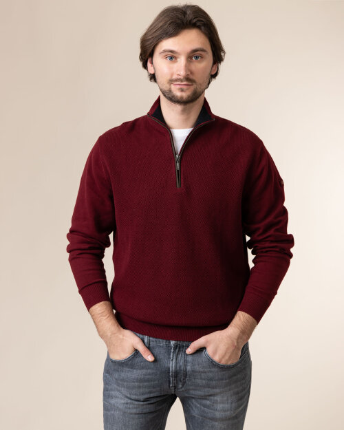Sweter Redmond 623_57 bordowy