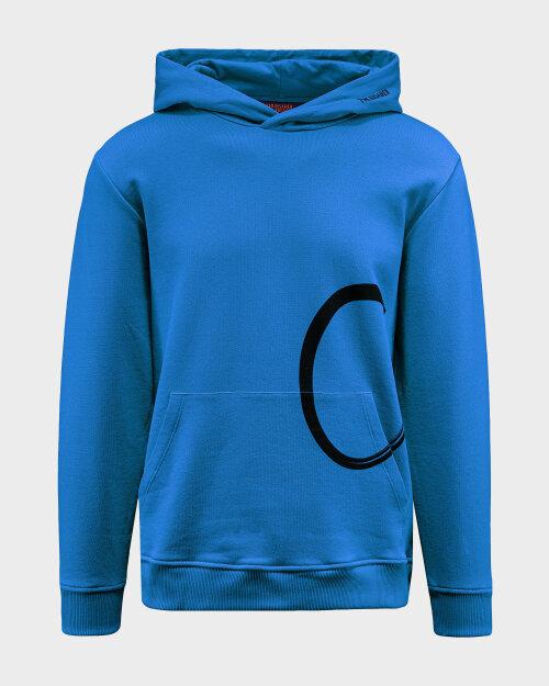 Bluza Trussardi  52F00116_1T003047_U266 niebieski