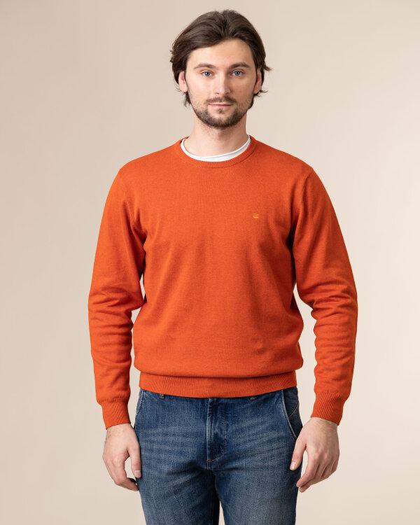 Sweter Redmond 500_208 pomarańczowy